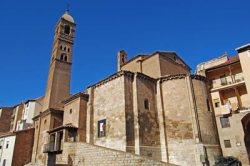 Tarazona,  Iglesia de Santa María Magdalena situada en el barrio del Cinto.