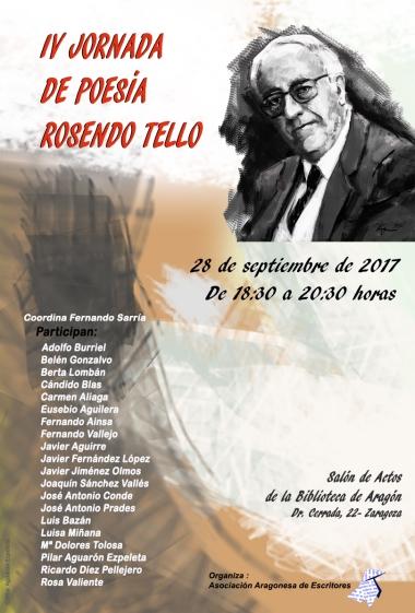 IV JORNADA ROSENDO TELLO