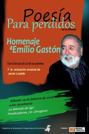HOMENAJE A EMILIO GASTÓN