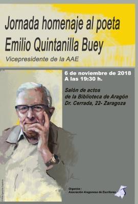 CARTEL JORNADA EMILIO QUINTANILLA